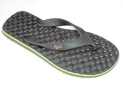 Flojos Cool mBreeze, Chaussures de homme piscine et plage pour homme de Noir 2ab5a8