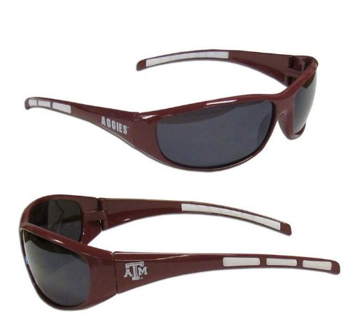 NCAA Texas A&M Aggies Wrap Sunglasses, ()