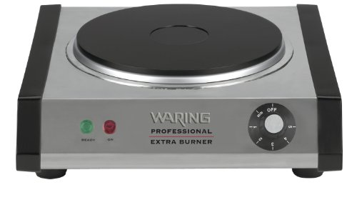 Waring Commercial WEB300 Heavy-Duty Commercial Cast-Iron Single Burner by Waring