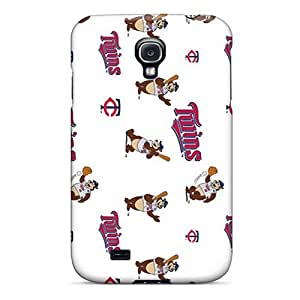 Galaxy S4 Case Cover - Slim Fit Tpu Protector Shock Absorbent Case (mascots)