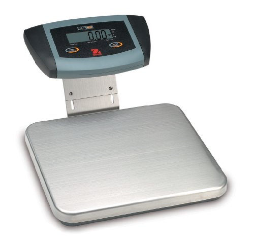 Low Profile Bench Scale (Ohaus ES6R Low Profile Bench Scale, Stainless Steel, 6kg Capacity, 0.002kg Increments)