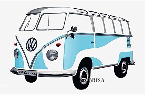 BRISA VW Collection Volkswagen Escarabajo Tatuaje de Pared ...