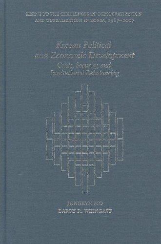 Mo, J: Korean Political and Economic Development Harvard East Asian Monographs: Amazon.es: Mo, Jongryn: Libros en idiomas extranjeros