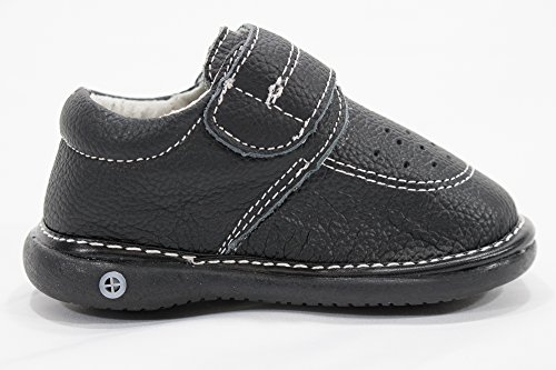 Anderson Baby Care LLC Squeaky Shoes for Toddler Boys (4T, Black Loafer) by Anderson Baby Care LLC (Image #5)'