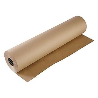 Boardwalk K36301000 Kraft Paper, 36 in x 1,000 ft, Brown