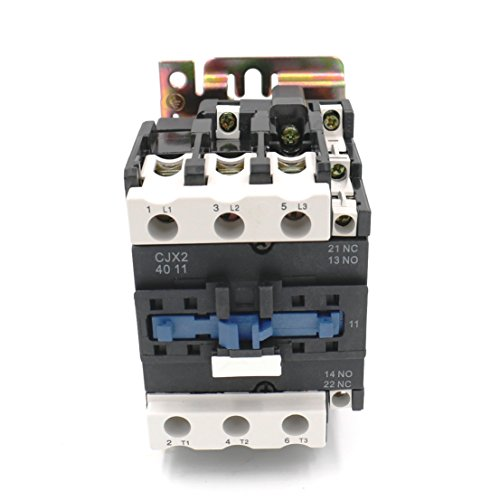 Baomain CJX2-4011 220V 50/60HZ AC Contactor 40Amp 3 Phase 3-Pole NO NC