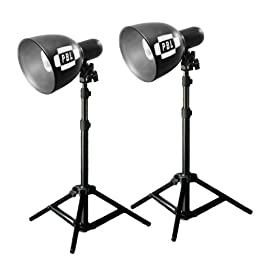 PBL LED Photo Lighting Kit Table Top High Output Photography Bulbs 700 Watts