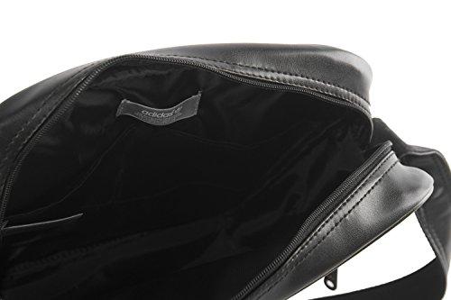 Umgehängt Mann ADIDAS Schwarz Tasche Mehrfach VF218 M9Yy2