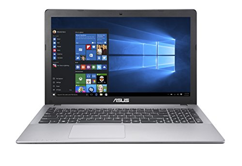 Asus X550ZA-WH11 15.6-Inch Laptop (AMD Quad Core A10-7400P 2.5GHz processor, 8 GB DDR3 RAM, 1000 GB Hard Drive, Windows 10), Dark Grey