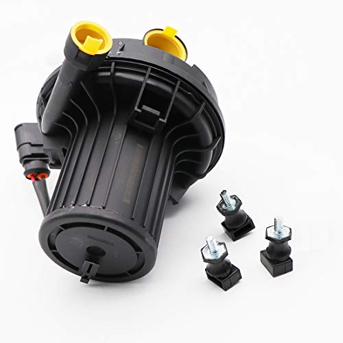 KIPA Secondary Air Injection Smog Air Pump For Audi A4 A6 A8 Q7 VW Beetle Golf Jetta Passat Replace For OE Number 06A959253B, 06A959253E, 078906601B, 078906601A, 078906601E, Durable stable Quality