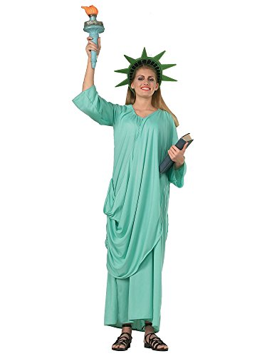 Rubie's Patriotic Collection Adult Statue Of Liberty, Green, One Size Costume ()