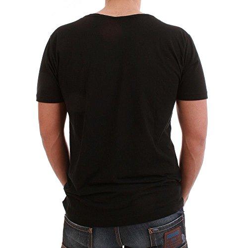 Be Famous T-Shirt Men - ALSO PARTY - Black