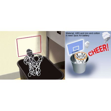 The Cheering Basket Ball Hoop