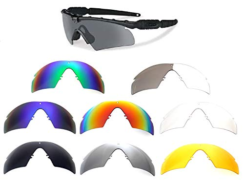 Galaxy Replacement Lenses Oakley Si Ballistic M Frame 2.0 Z87 8 Color Pairs Special Offer!