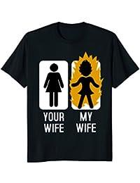 Your Wife My Wife Shirt : Anime Superhero Wifey Mom Husband