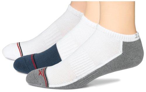 IZOD Men's Performx Low Cut Moisture Management Active sock, 3-Pack