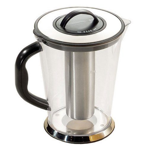 Tablecraft (2LKK) 2 qt Stainless Steel Center Ice Core Pitcher [Set of 6]