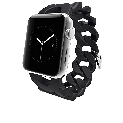 Case-Mate Replacement Band for Apple Smart Watch - Retail Packaging - Black