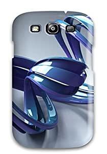 Protection Case For Galaxy S3 / Case Cover For Galaxy(shapes Abstract)