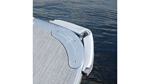 TAYLOR MADE Pontoon Corner Bumper One Size, Silver