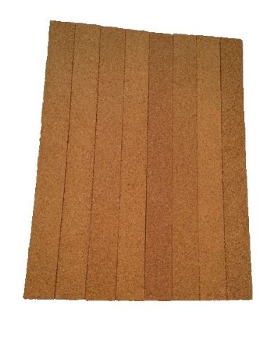 Thick Multi Purpose Cork Strips (8 Pack) Classroom Bulletin Board Bar 36x3.5x0.5 Inches by Jelinek Cork Group (Image #6)