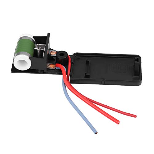 OKBY Blower Motor - 17117541092R Car Engine Cooling Radiator Fan Motor Resistor for Mini Cooper R50 R52 R53 03-08,Fan Resistor: