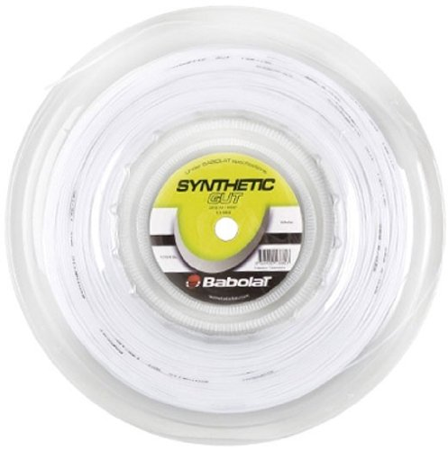 Babolat Synthetic Gut 17G (660ft) REEL Natural (Best Synthetic Gut String For Hybrid)