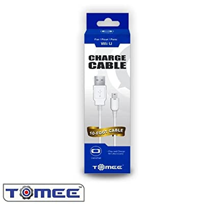 Tomee Wii U Charge Cable For Gamepad from Tomee