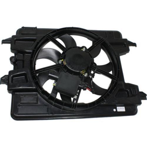 MAPM Premium HHR 08-10 RADIATOR FAN SHROUD ASSEMBLY, 2.0L Eng., w/ Fan Control Module by Make Auto Parts Manufacturing