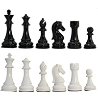 Kids Mandi Heavy Tournament Triple Weighted Chess Pieces Set
