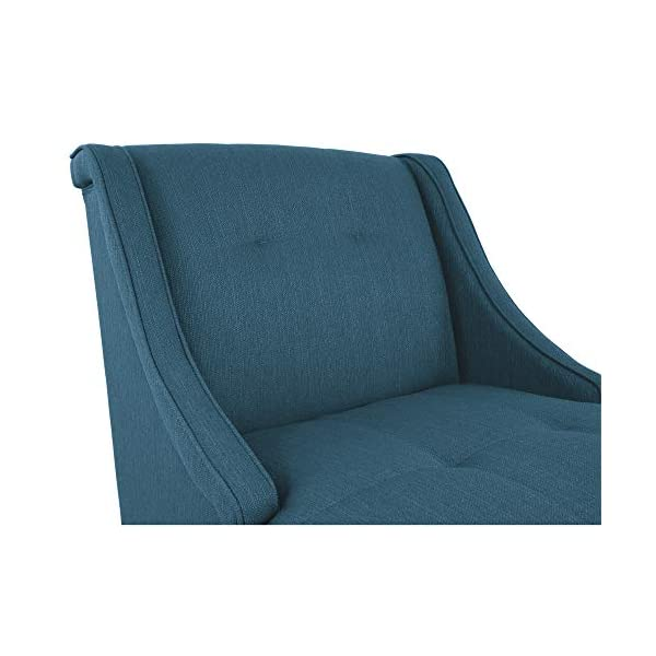 Admirable Signature Design By Ashley Clarinda Accent Chair Wingback Modern Blue Short Links Chair Design For Home Short Linksinfo