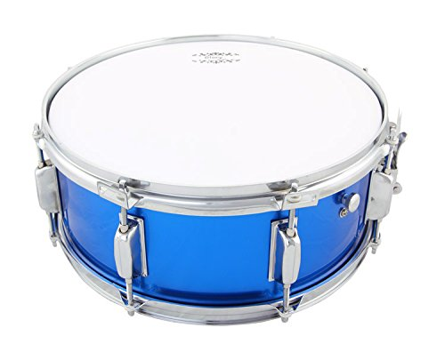 Glory Snare Drum With Sticks, and Strap, for Beginners and Students, Blue Color- Click to Choose More Colors