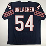Unsigned Brian Urlacher Chicago Blue Custom Stitched Football Jersey Size Men's XL New No Brands/Logos
