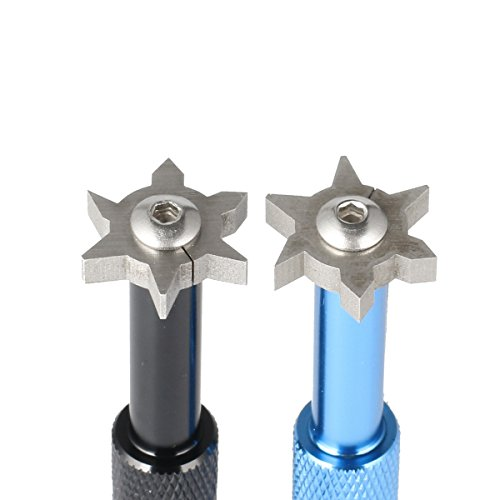 Sacapuntas de golf con cuchillas de corte en forma de juegos de hierro y palos de cuña - SummerHouse - Accesorios para herramientas de limpieza de re-ranurado