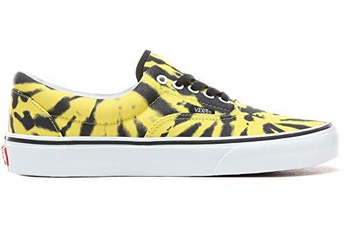 Yellow Tie Dye Mixte Blazing White Era U Mode Vans True Baskets Adulte w7zYza