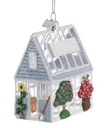 Kurt Adler Noble Gems 3.25 Greenhouse Ornament Multi