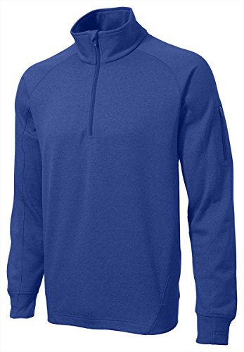 1/4 Zip Polyester Fleece Pullover - 3