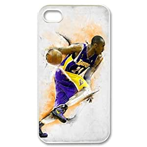 Basketball star Kobe phone Case Cove For Iphone 4 4S case cover FANS362474