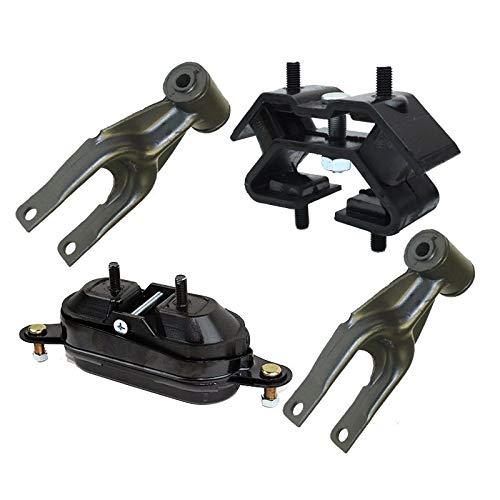 K0621 Fits Buick Century 1997-2005 3.1L/Regal 1997-2004 3.8L Motor&Trans Mount Set 4 PCS : A2796, A2866, A2866, -