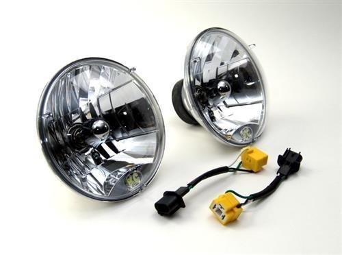 KC HiLiTES 42302 H4 Headlight Conversion Kit for Jeep ()
