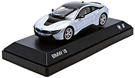 Amazon Com Bmw I8 Ionic Silver 1 43 Toys Games