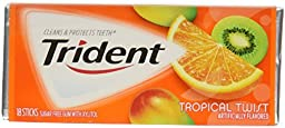 Gold Plum Chinkiang Vinegar 18.6 fl oz (Pack of 2) plus a Free Gift Trident Gum, Tropical Twist Flavor In Frustration Free Packaging