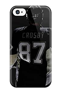 Iphone Case - Tpu Case Protective For Iphone 4/4s- Pittsburgh Penguins (68)