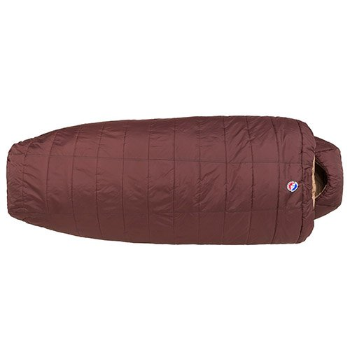Big Agnes Elk Park -20 (Thermolite Extra) Sleeping Bag, Wide Long, Chocolate