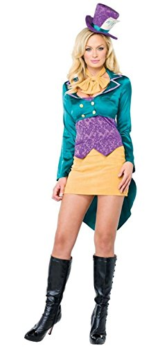 Tea Party Hostess Costumes (Deluxe Tea Party Hostess Costume - Large - Dress Size 12-14)
