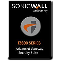 SonicWall | 01-SSC-1460 | ADVANCED GATEWAY SECURITY SUITE BUNDLE FOR TZ600 SERIES 1 Year