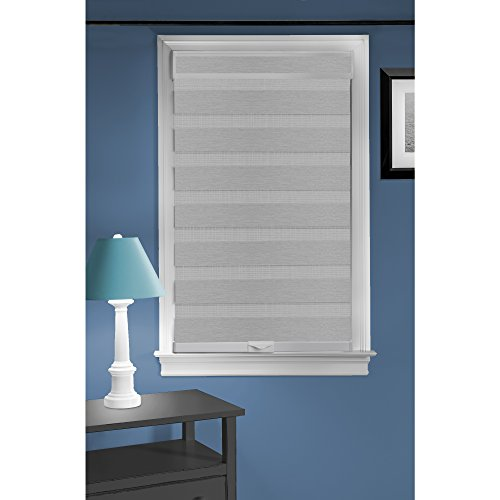 Achim Home Furnishings Cordless Celestial Sheer Double Layered Window Shade, 27