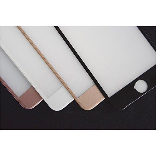 1 x Apple iPhone 7 Plus / 8 Plus Pellicola Protettiva Vetro Temperato chiaro full screen curved nero - PhoneNatic Pellicole Protettive