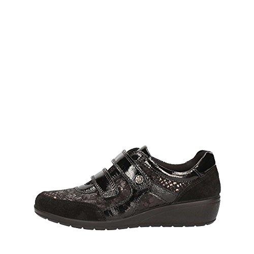 00 Nero Sneakers Enval Donna 89580 Strappi Soft Scarpe 1n4ZY