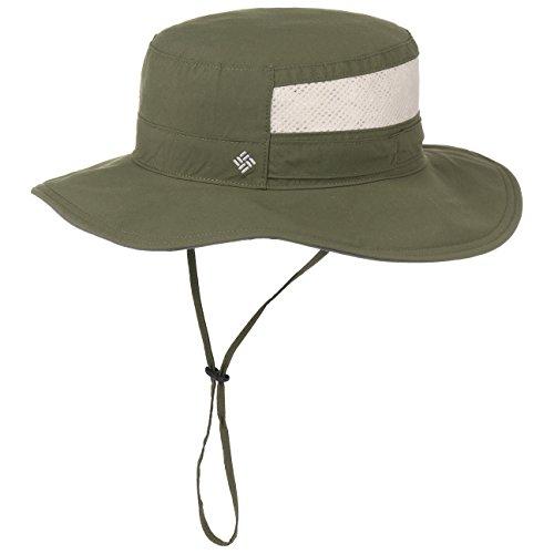 Columbia Unisex Bora Bora II Booney Hat, Moisture Wicking Fabric, UV Sun Protection, Peatmoss, One Size